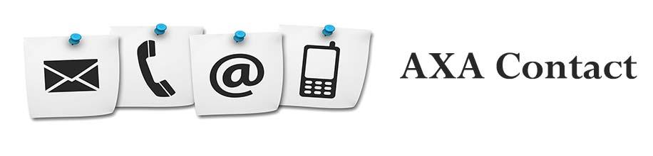 contact axa banque