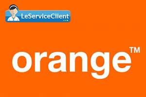 service client orange france
