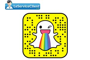 service client Snapchat