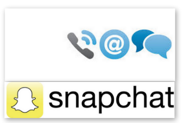contact service client Snapchat