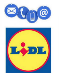 joindre Lidl en ligne