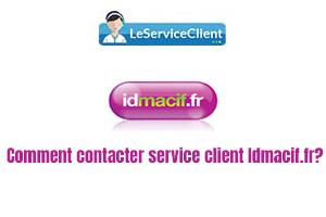 comment contacter service client Idmacif