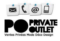 contacter le service client Private Outlet