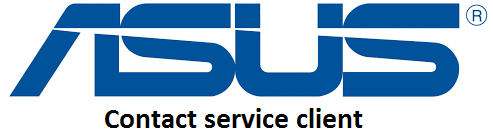 Contact service client Asus