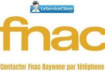 Contacter Fnac Bayonne par téléphone