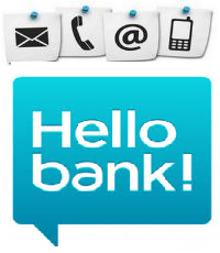 Contact service client Hellobank