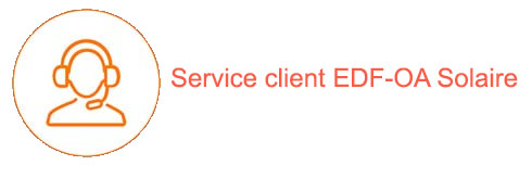 Contact service client EDF-OA Solaire