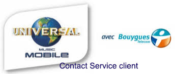 Contact service client Universal mobile