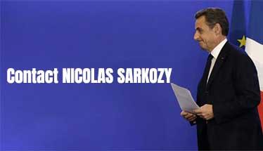 Contact NICOLAS SARKOZY