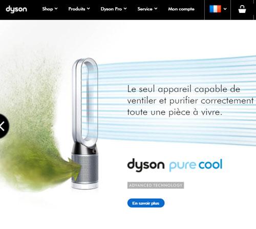 contact service client dyson en ligne