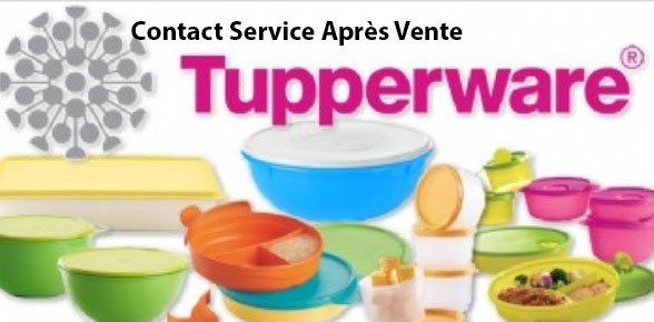 Contact service client Tupperware