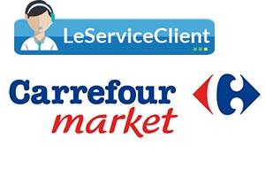 Le service client Carrefour Market