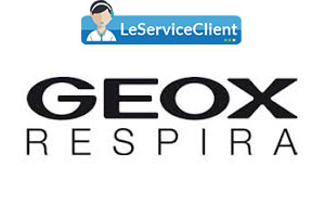 contacter le service client Geox
