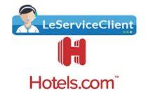 service client de Hotels.com