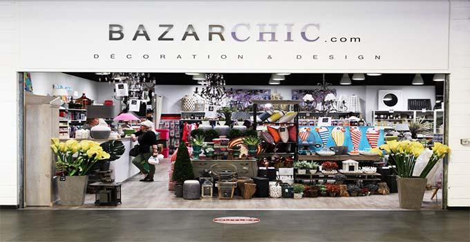 se rendre en personne au magasin Bazarchic