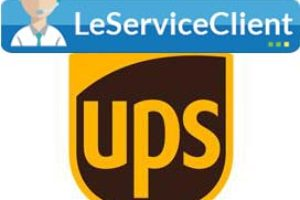 joindre facilement le service client et apres vente de UPS