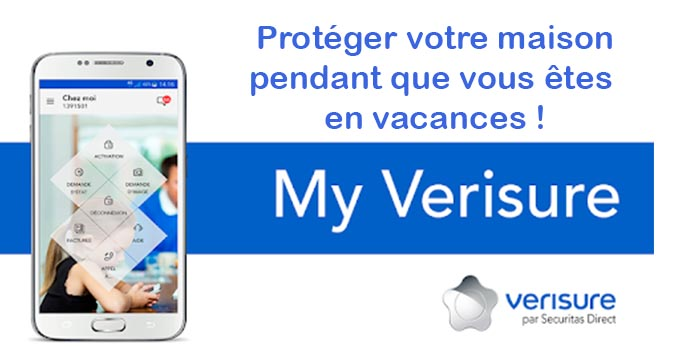 Mon application Verisure