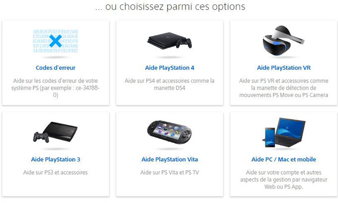 probleme playstation sony