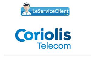 Contacter le service client Coriolis