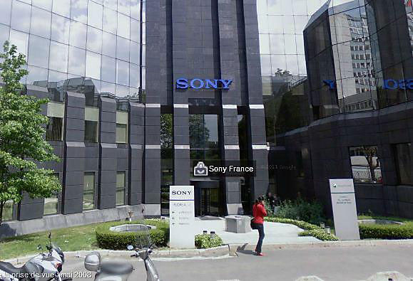 sony france adresse