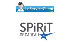 Service client Spirit of cadeau