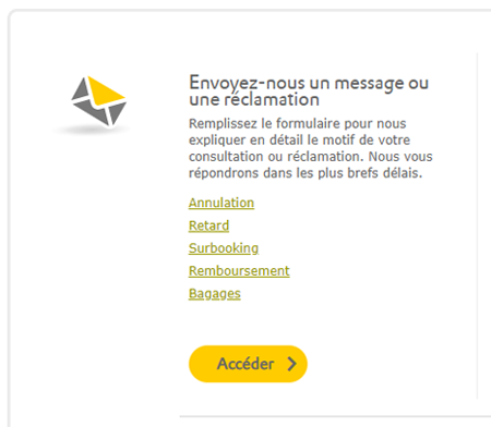 Vueling contact Orly