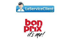 Contacter le service client Bonprix