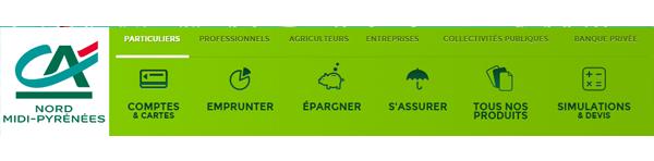 Service client Crédit Agricole Nord Midi Pyrénées