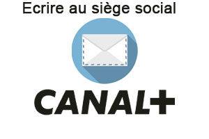 Ecrire au siège social Canal Plus