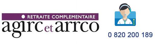 Contact service client Agirc et Arrco par téléphone