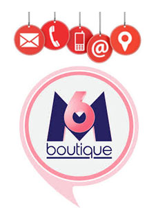 contact service client M6 Boutique