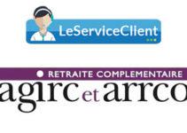 service client argic et arrco