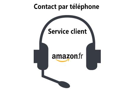 Amazon service clientèle Français par téléphone