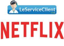 Contact service client Netflix