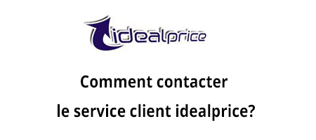 Idealprice service client contact