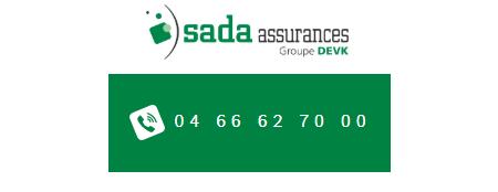 Numéro de téléphone de SADA Assurance