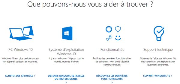 Contacter Microsoft Windows France en ligne