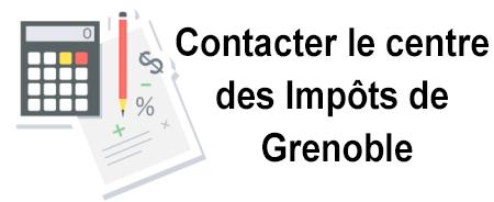 Contacter le centre des impôts de Grenoble