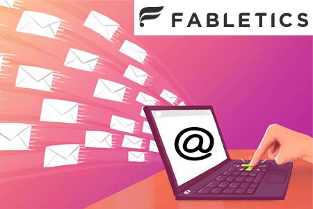 Envoyer un email à Fabletics