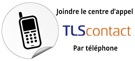 Joindre TLS contact par téléphone
