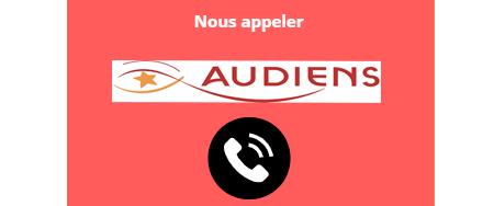 Numéro de téléphone Audiens
