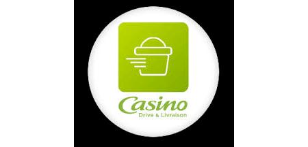 Casino drive et livraison application mobile