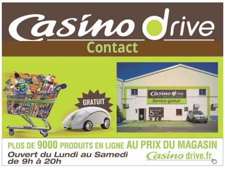 Comment contacter le service client Casino Drive?