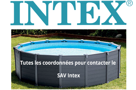Comment contacter le SAV Intex