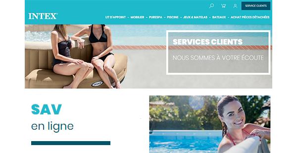 Contacter Intex SAV en ligne: