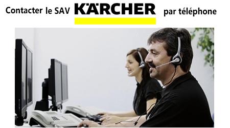 Joindre un conseiller Karcher France par téléphone