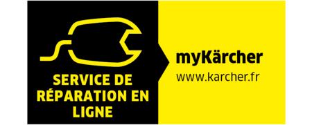 Compte client MyKarcher: Service de réparation en ligne