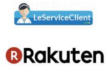 Contact service client Rakuten