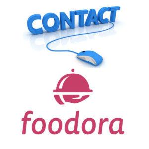 Contact service client Foodora
