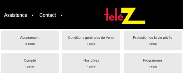 Joindre telez.fr en ligne